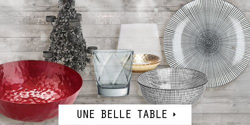 Déco Table de Noël