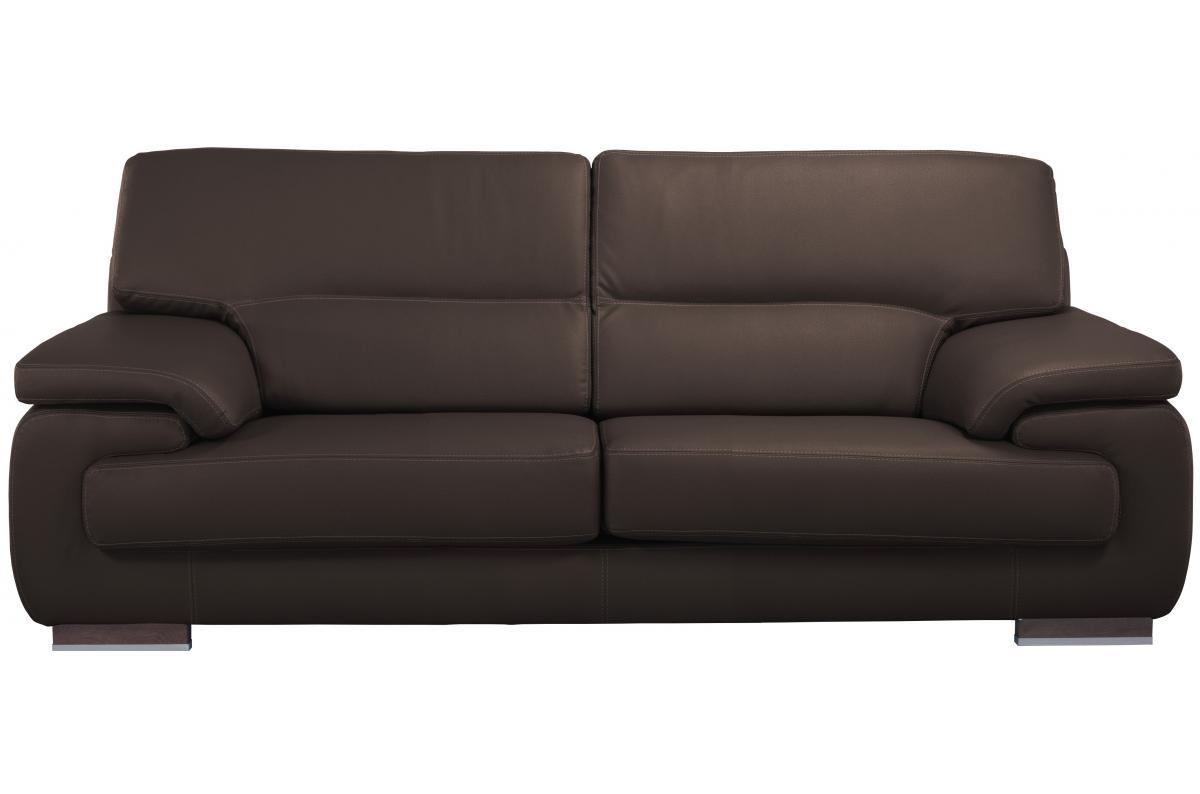Changer La Couleur D Un Canapé En Cuir canapé 2 places cuir johnny - canapé droit pas cher