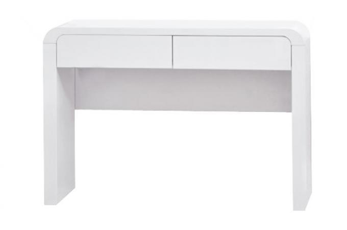 Console 2 tiroirs blanche ORNELLA