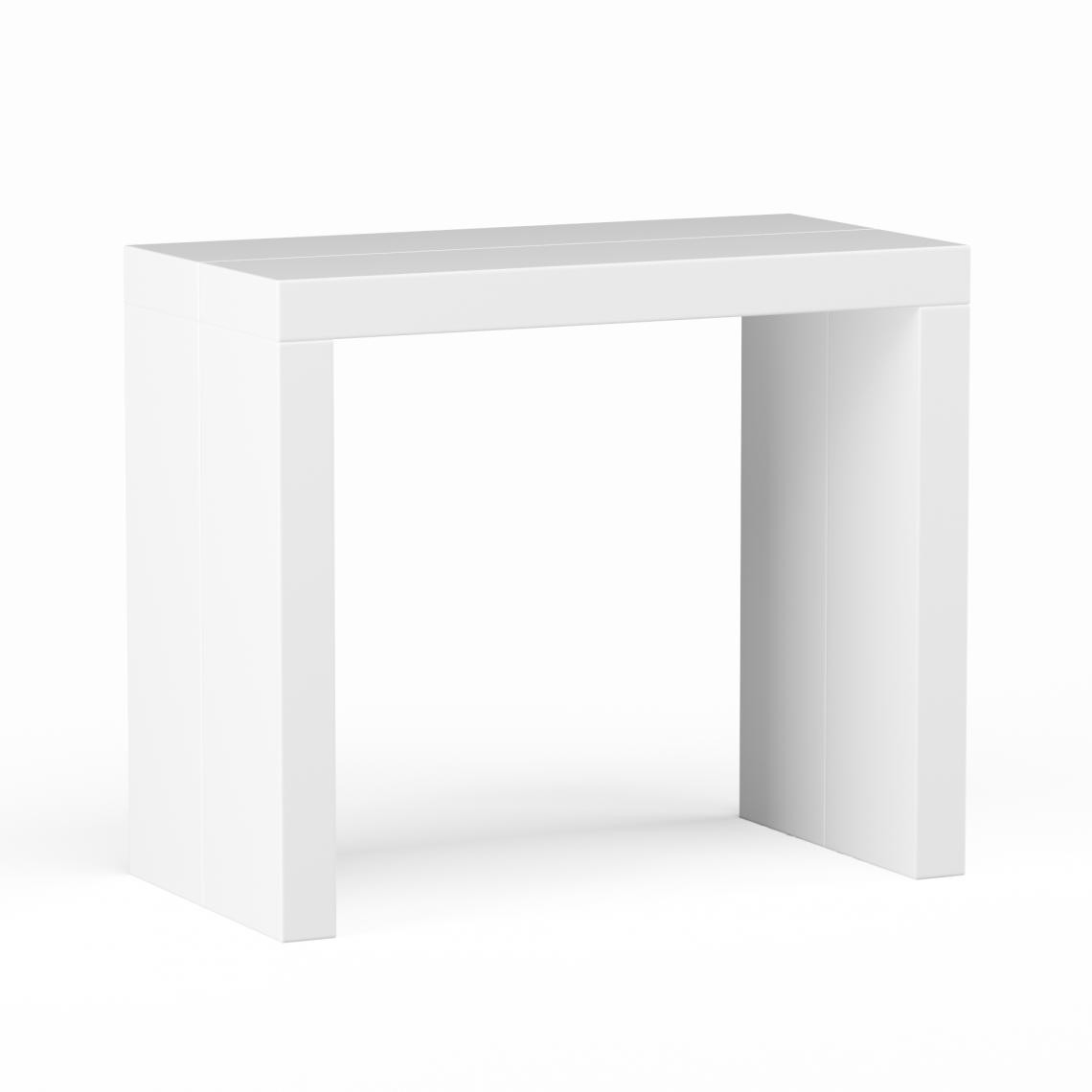 Table extensible Blanc