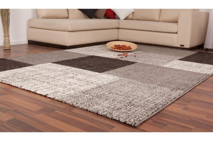tapis rectangulaire 200 x 290 cm patchwork gris tapis design pas cher. Black Bedroom Furniture Sets. Home Design Ideas