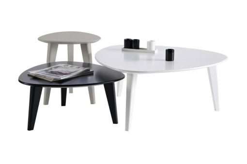 Set de 3 Tables basses Scandinaves ROLLING