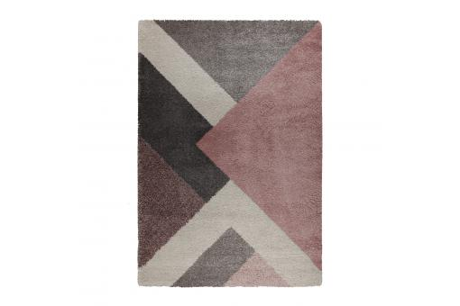 Tapis Design Rose Multicolore LAZUR - Tapis design