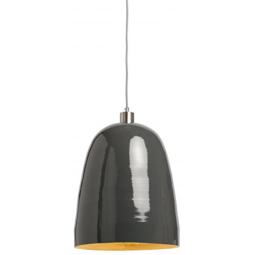 Suspension Naturelle Grise en Bambou Laqué SAIGON - Edition scandicraft deco luminaire