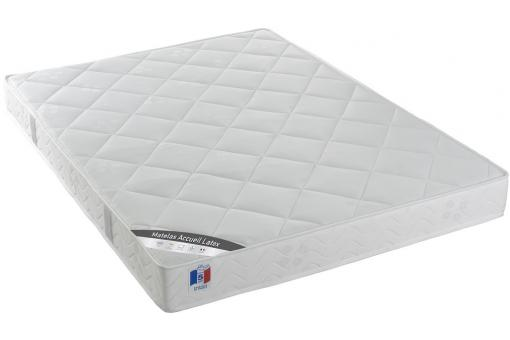 Matelas Latex et Mousse 25kg-m3 2 Faces H17 cm 140x190 cm SONGE