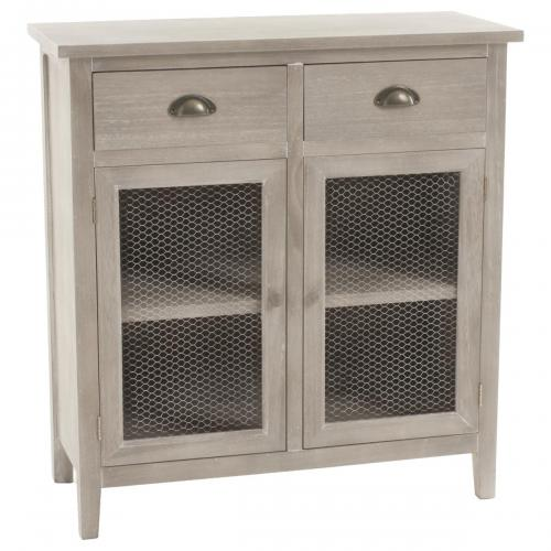 Buffet 2 portes 2 tiroirs COUNTY - Salon meuble deco