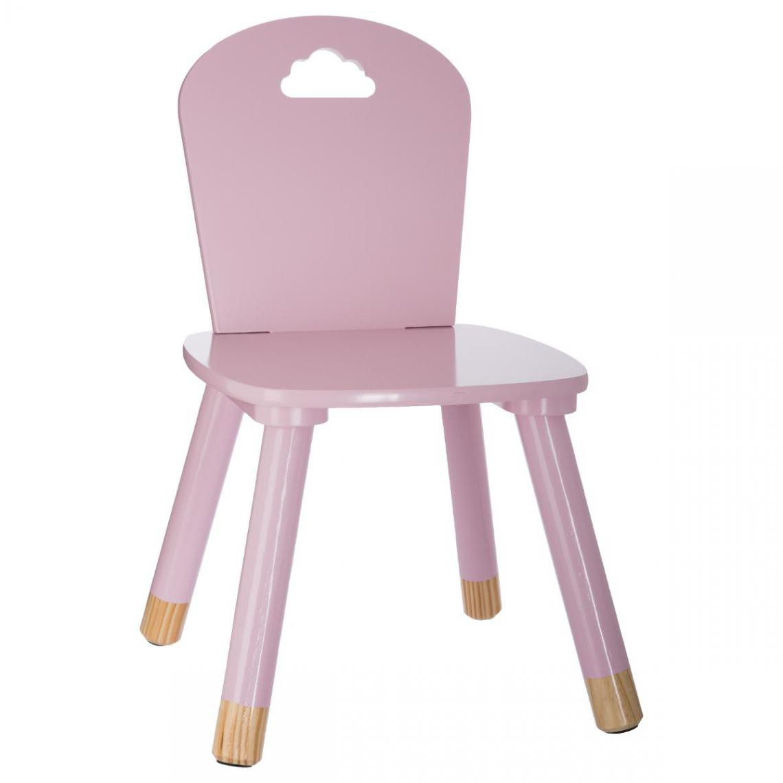 Chaise Enfant Rose MINO
