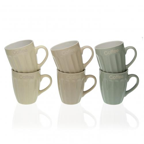 Set de 6 Tasses BRIO - Mug et verre design