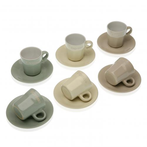 Set de 6 Tasses EMLI - Mug et verre design