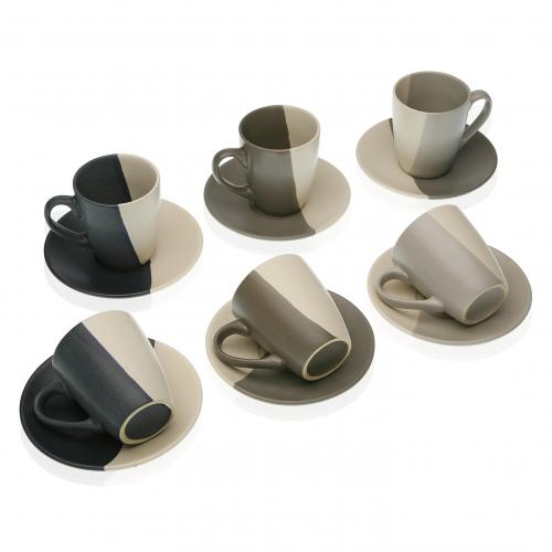 Set de 6 Tasses RINCO - Mug et verre design