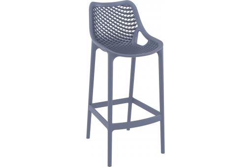Tabouret de bar design grise anthracite ALISON