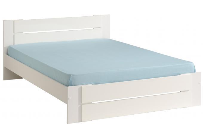 lit blanc design 160 stella lit design pas cher. Black Bedroom Furniture Sets. Home Design Ideas