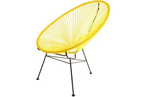 fauteuil la chaise longue jaune acapulco fauteuil design. Black Bedroom Furniture Sets. Home Design Ideas