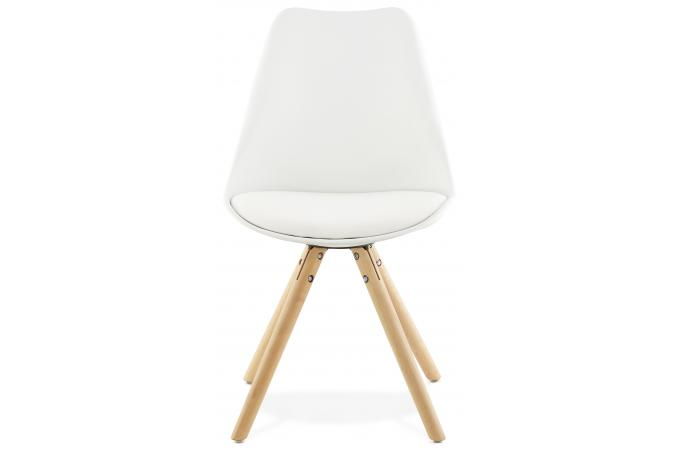 Chaises blanche pas cher gallery of chaise design blanche - Chaise pliante blanche pas cher ...