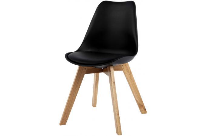 chaise design style scandinave noire esben chaise design pas cher. Black Bedroom Furniture Sets. Home Design Ideas
