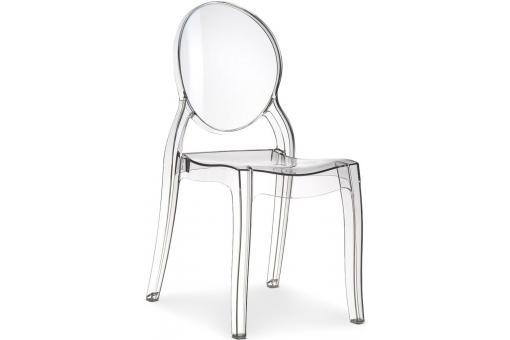 chaise elizabeth transparent chaise design pas cher. Black Bedroom Furniture Sets. Home Design Ideas