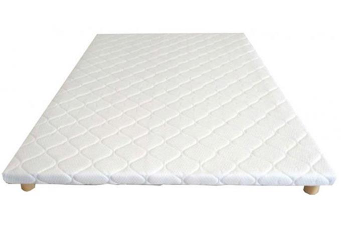 sommier tapissier extra plat 160x200cm kaman sommier pas. Black Bedroom Furniture Sets. Home Design Ideas