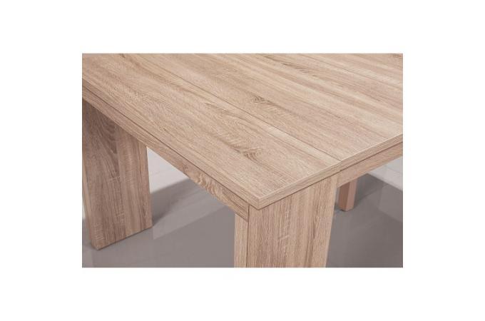 console extensible ch ne clair 250cm mat chicago table. Black Bedroom Furniture Sets. Home Design Ideas