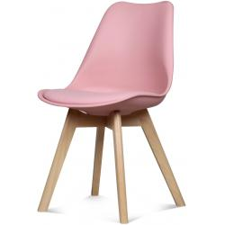 Chaise Design Style Scandinave Rose ESBEN