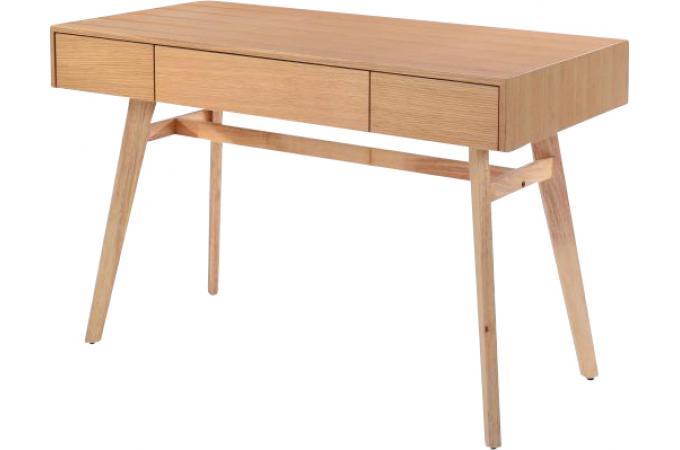 Bureau scandinave 3 tiroirs bois penu bureau pas cher - Bureau scandinave pas cher ...