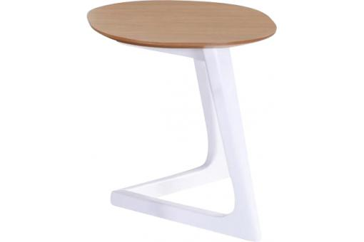 Table d'Appoint Scandinave Chêne SIGASTE - Salon scandinave