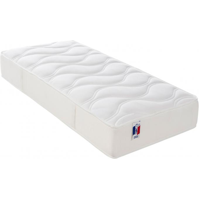matelas 100 latex 2 faces h19 cm 90x190 cm junon. Black Bedroom Furniture Sets. Home Design Ideas