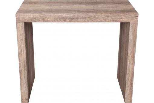 Console extensible 225cm Chene Mat LINE-OAK - Meuble gain de place