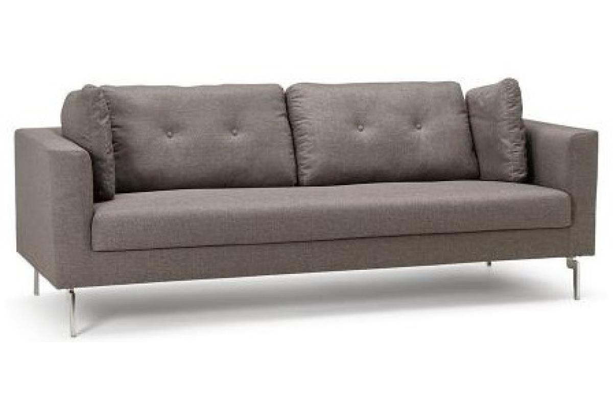 Photo De Canape Moderne canapé moderne 3 personnes en tissu gris kooks plus d'infos