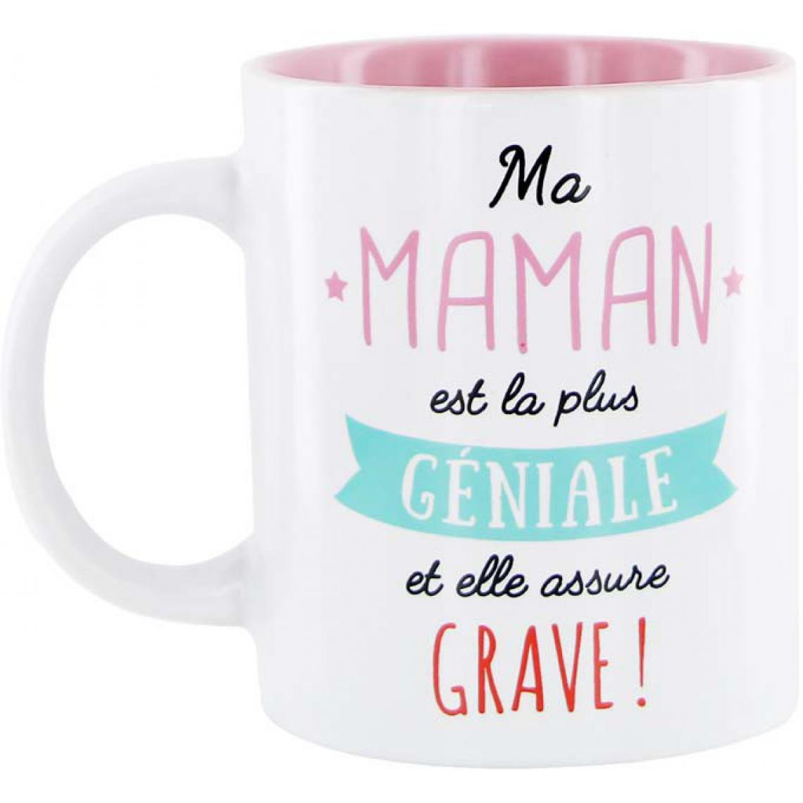 Mug En Céramique Rose Maman FAMILY