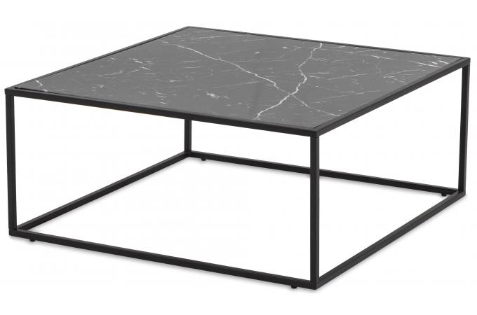 table basse plateau effet marbre noir fortune table basse pas cher. Black Bedroom Furniture Sets. Home Design Ideas