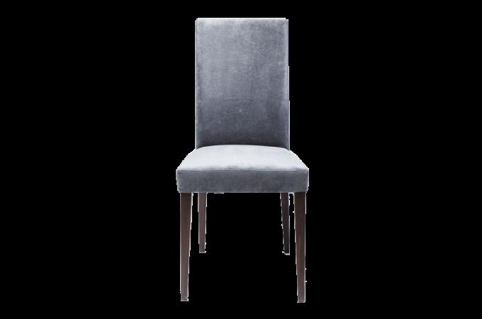 Chaise kare design mara bleu gris sylvia chaise design pas cher for Chaise kare design
