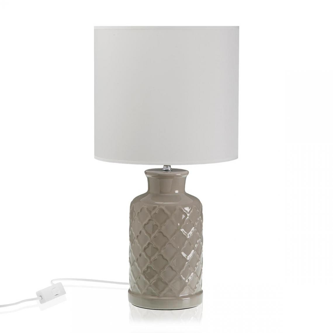 Lampe Cylindre Gris LOA