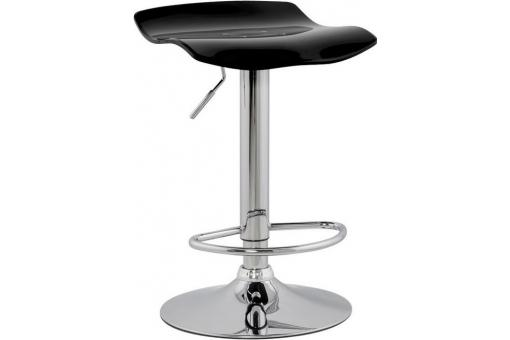 Tabouret de Bar Noir Design Wave