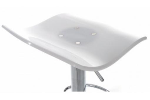 Tabouret de Bar Wave Blanc