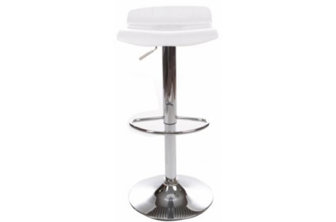 tabouret de bar wave blanc tabourets de bar pas cher. Black Bedroom Furniture Sets. Home Design Ideas