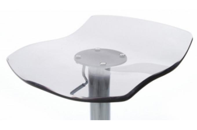 Tabouret de bar transparent gris design igloo barstool - Tabourets de bar transparents ...