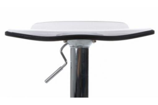 Tabouret de Bar Wave Transparent Fumé