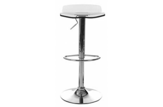 tabouret de bar pas cher transparent
