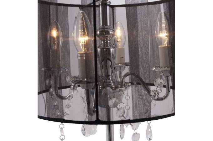 Lampe poser baroque noir mobilier baroque pas cher for Lampe a poser baroque