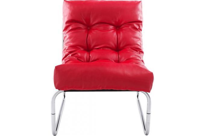 fauteuil design capitonn rouge psy fauteuils design pas cher. Black Bedroom Furniture Sets. Home Design Ideas