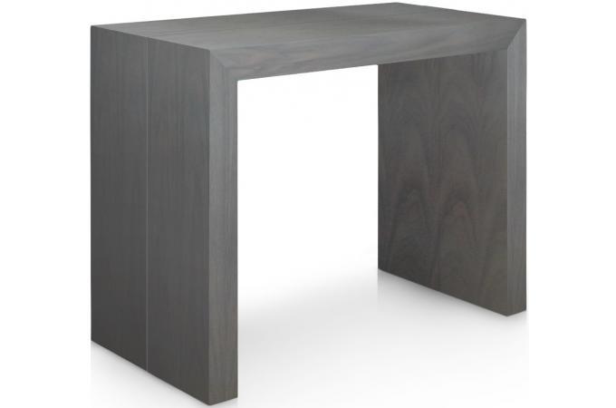 Table console extensible gris vintage - Table console extensible 5 rallonges ...