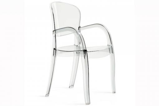 Chaise Design Transparente VICTOR