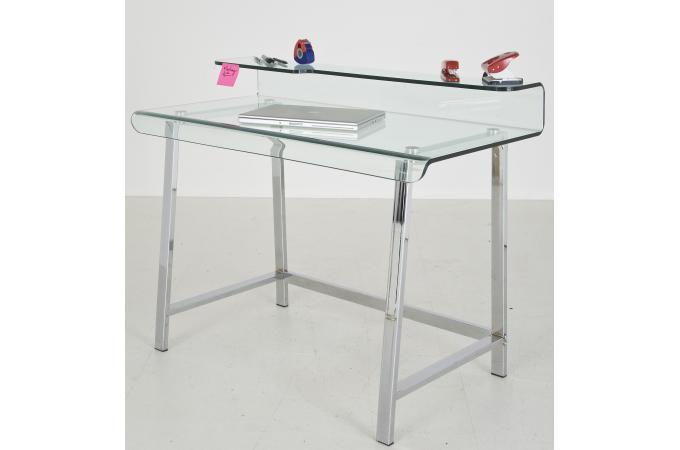 Bureau en verre design lupo - Bureau verre design ...
