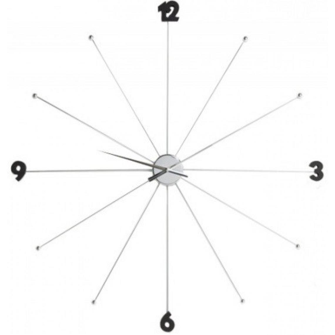 Grande Horloge Umbrella Chromée