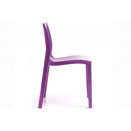 Lot de 2 Chaises Violette LADY