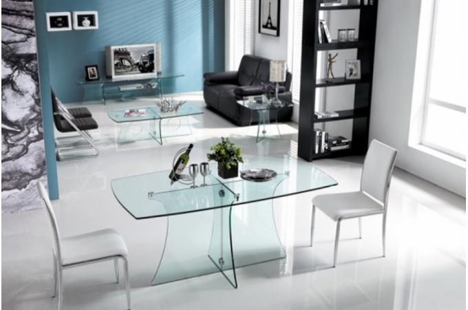 table manger en verre riako design declikdeco. Black Bedroom Furniture Sets. Home Design Ideas