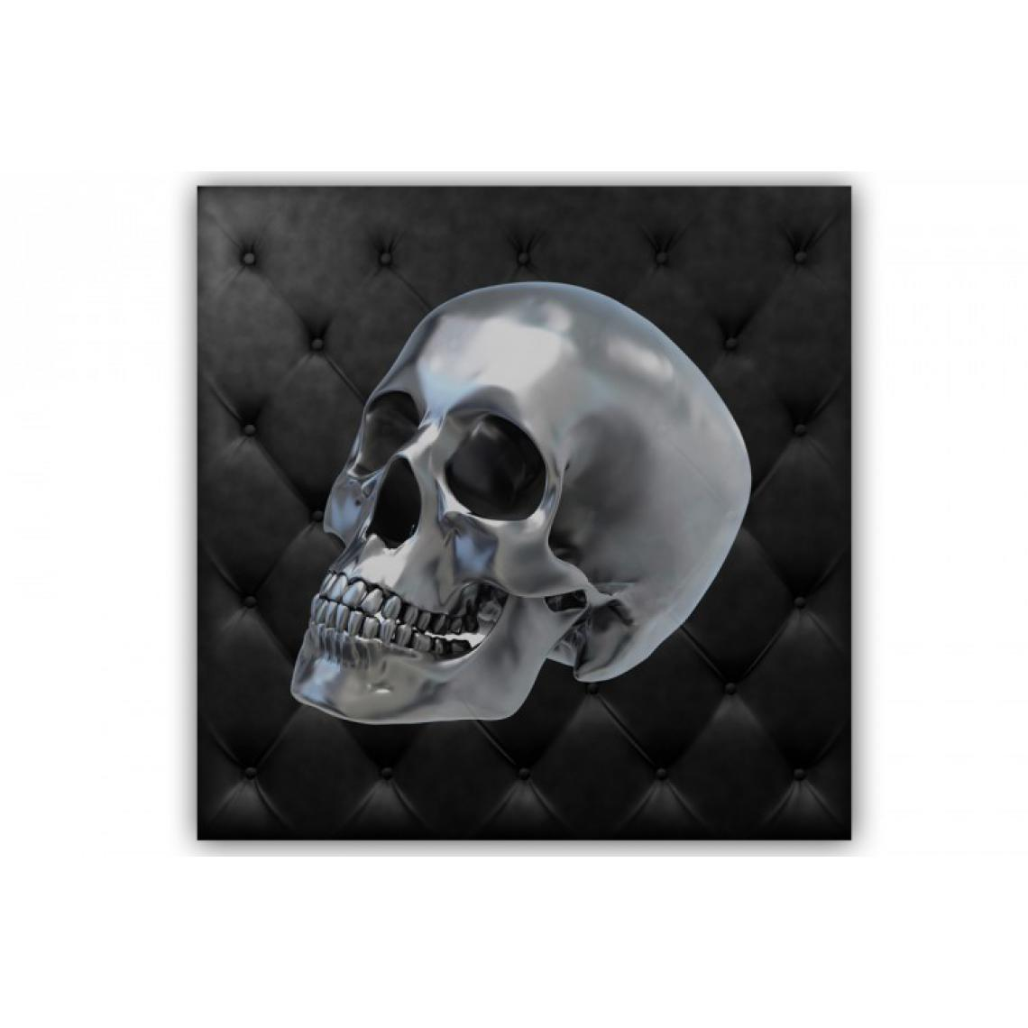 Tableau Rock'N'Roll Crâne 60X60 cm