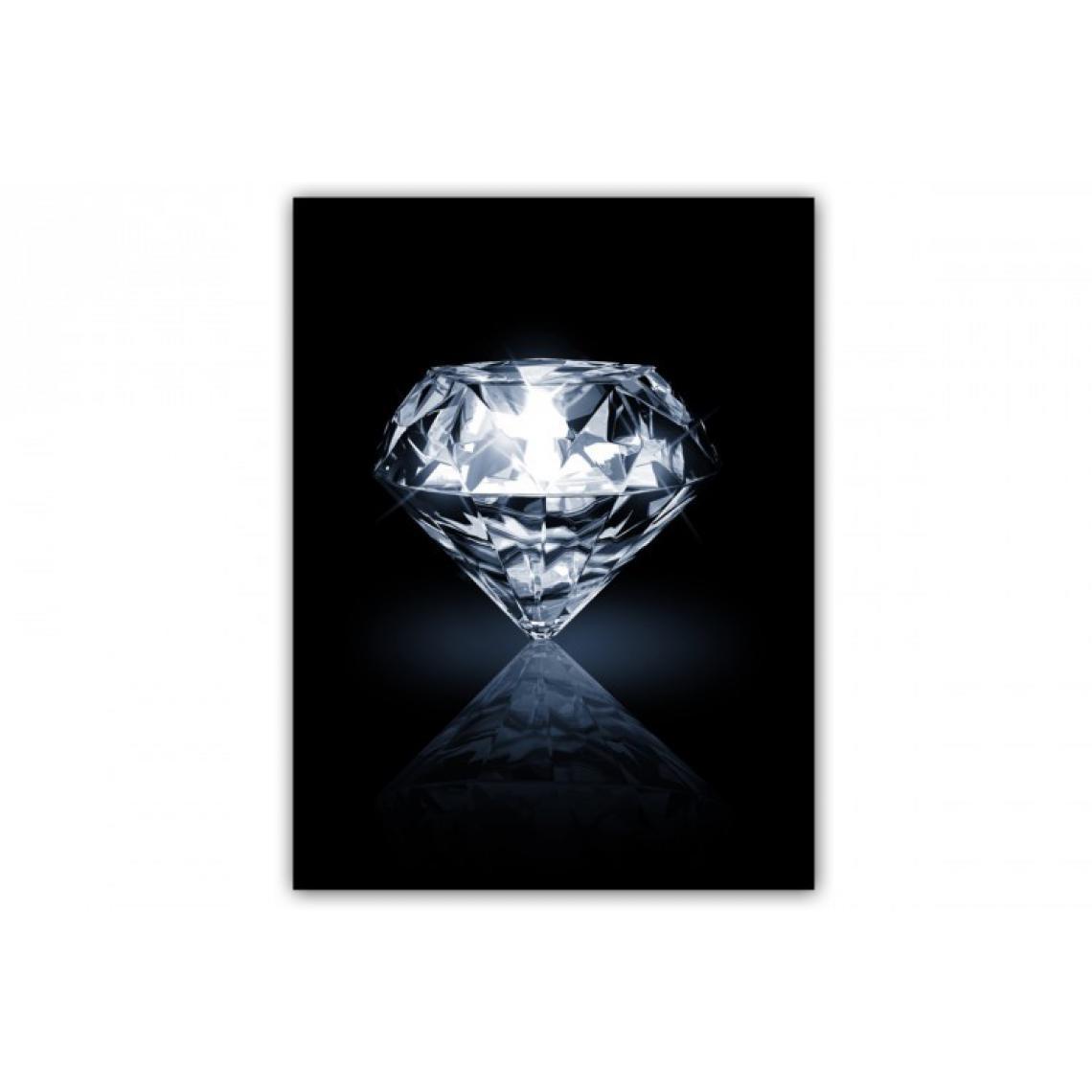 Tableau Romantique Solitaire Diamant L.55 x H.80 cm