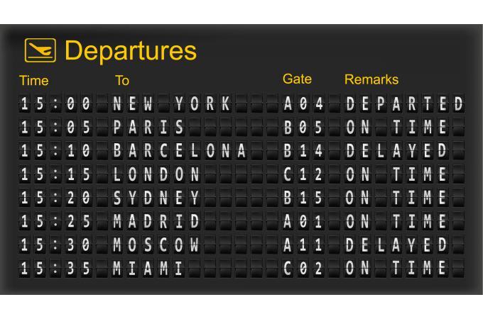 Tableau Villes Panneau Aeroport L 80 X H 55 Cm 4 5 1 Avis