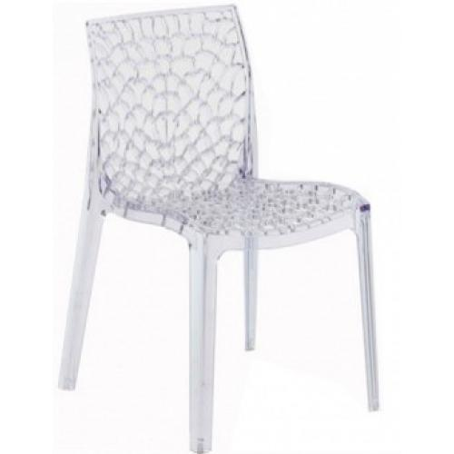Chaise Design Transparente GRUYER